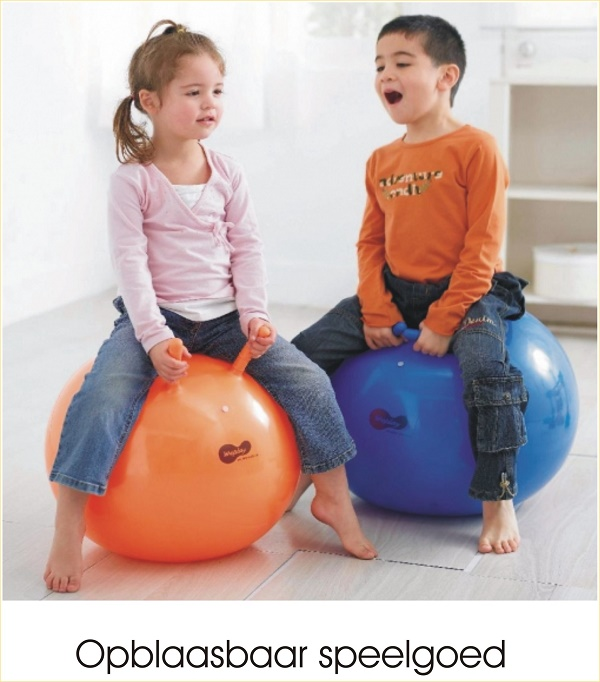 opblaasbaar speelgoed
