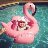 babyzwemband flamingo