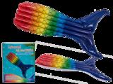 luchtbed regenboog vis