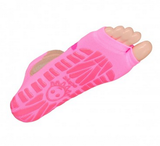 Antislip zwemsokken Sweakers roze flower maat 31-34_
