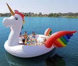 opblaasboot eenhoorn unicorn boot