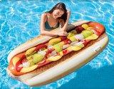 luchtbed broodje hotdog opblaasbaar