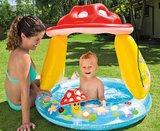 Peuter zwembad paddestoel