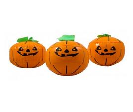 Opblaasbare pompoenen Halloween (3x)