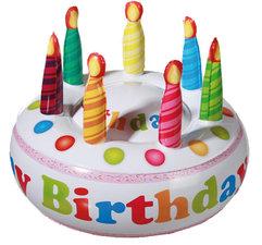 Opblaasbare Taart 'Happy Birthday'
