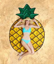 Strandlaken ananas doorsnee 150cm