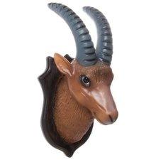 Figuurlamp steenbok met lange horens