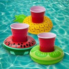 Opblaasbare bekerhouder watermeloen