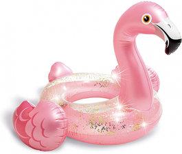 Kinder zwemband flamingo met glitters (89cm)