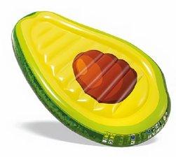 Zwemband luchtbed avocado 168cm