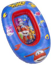 Opblaasbaar bootje kinderen Superwings blauw