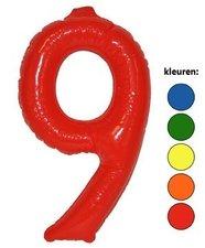 Opblaascijfer 6  of  9
