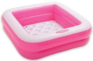 Opblaas zwembad kinderen roze