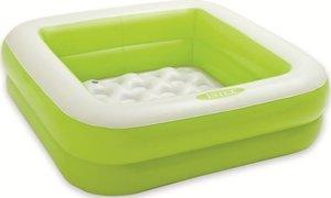 Opblaas zwembad kinderen groen