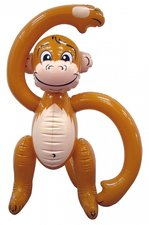 Opblaasbaar aapje 58cm