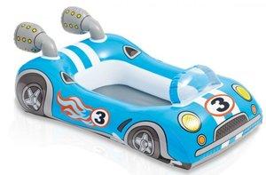 Opblaasboot raceauto 107x69cm