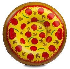Pizza zwemband met dichte bodem / snow tube