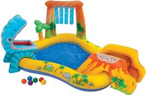 Opblaasbaar zwembad speelparadijs 249x191x109cm