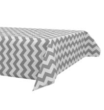 Papieren tafelkleed 120x180cm grijs