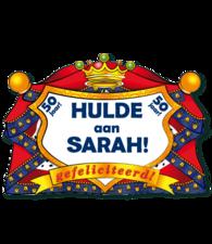 Huldeschild Sarah
