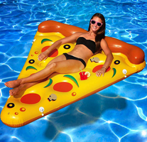 Pizza luchtbed 190x150cm