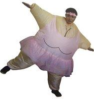 Opblaasbaar pak ballerina