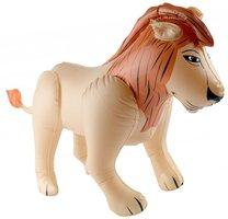 Opblaasbare leeuw 48x80cm