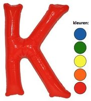 Opblaasletter K