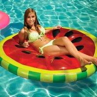 Opblaasbare watermeloen luchtbed doorsnee 183cm