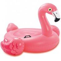 Opblaas flamingo luchtbed 142x137x97cm