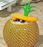 Opblaasbare ananas cooler 70cm
