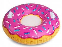 Opblaasbare donut snow tube (97x97x28cm)