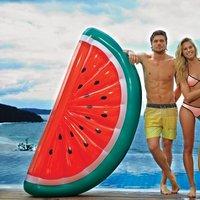 Opblaas watermeloen luchtbed 180x90 cm