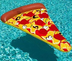 Pizza luchtbed 171x99 cm