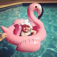 Baby zwemband flamingo