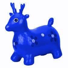 Skippy hert blauw