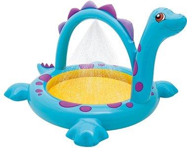 Kinder zwembad met watersproeier