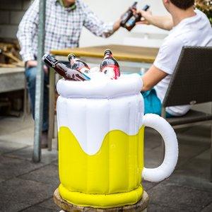Opblaasbaar bierglas