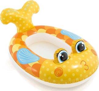 opblaasbootje vis