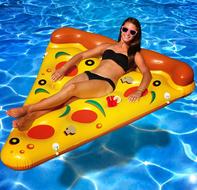 opblaasbare pizza
