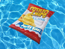 Luchtbed chips